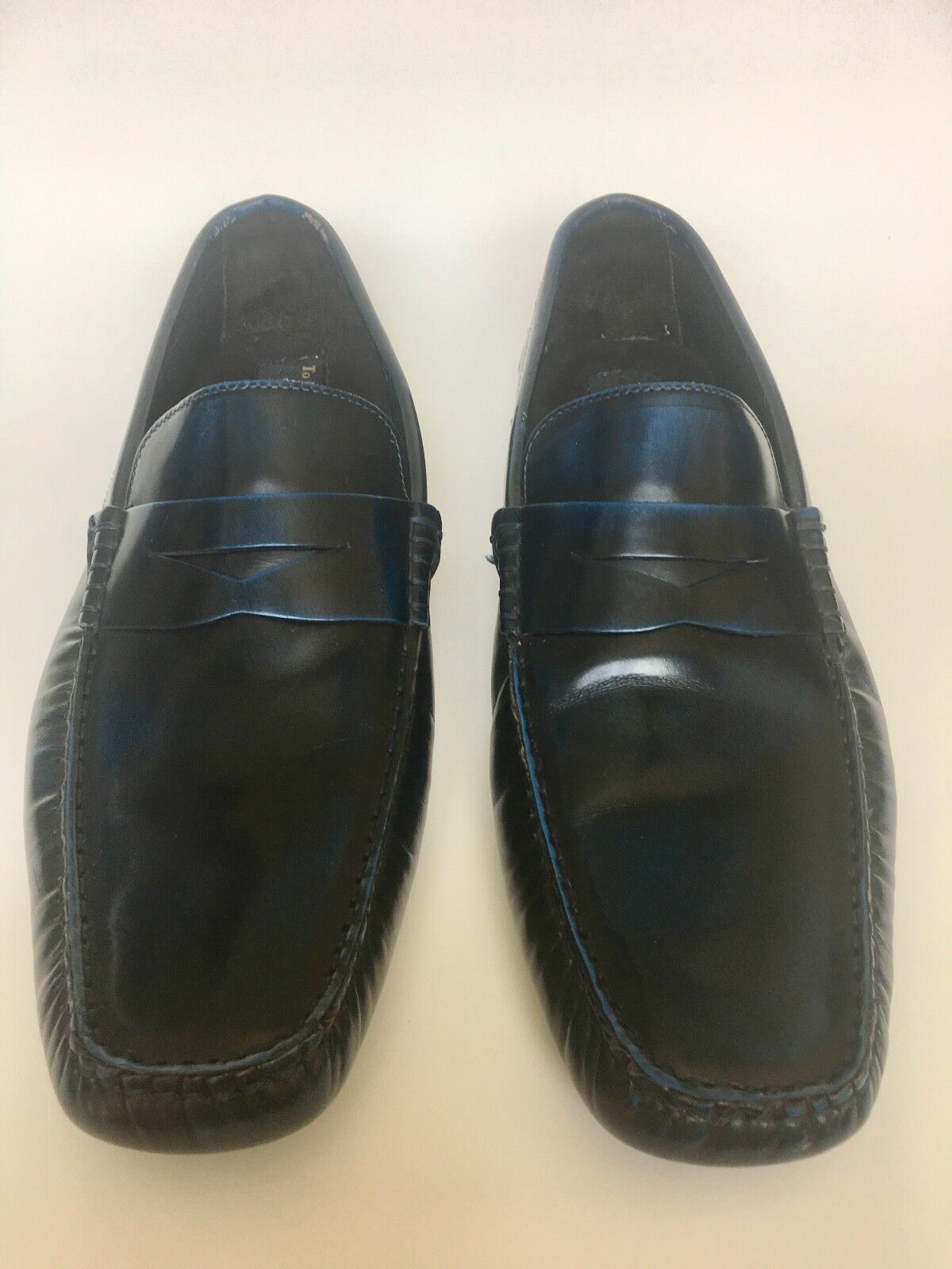 527ef78557bf TO BOOT New York Drivers Driving Shoes 10.5 D D D BLUE Slip-Ons Loafers  4297ea
