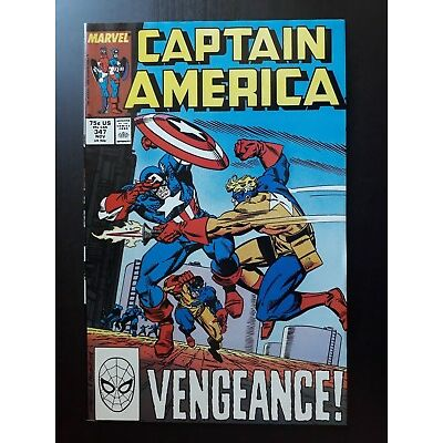 Marvel Captain America (1968) 347 US Comic