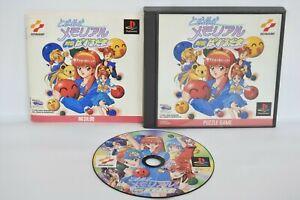 Tokimeki Memorial Taisen Pizzle Dama Ref Ccc Ps1 Playstation Japan