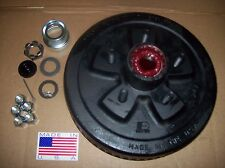 "10"" X 2-1/4"" 3500 lb Axles Dexter Trailer Brake Drum Hub Kit 5 on 4.5 3.5K"