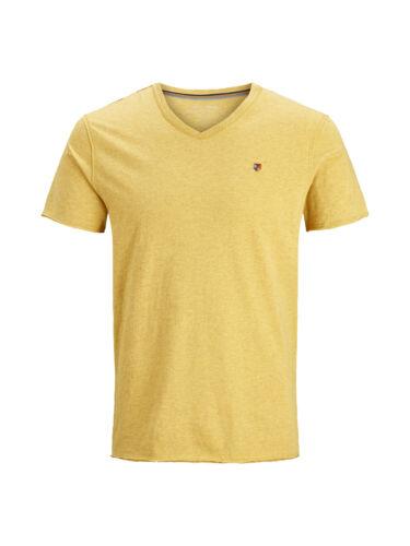 Jack /& Jones Herren Shirt T-Shirt V-Ausschnitt JprMexwell Blu Tee lässiges Basic