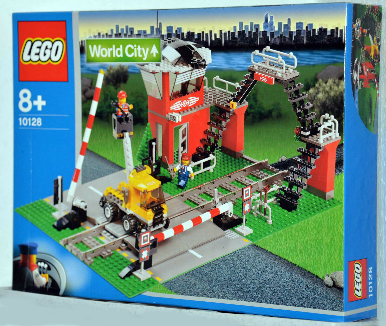 Lego World City 10128 Bahnübergang für Eisenbahn - Neu