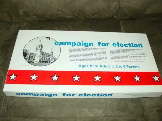 Campaign For Election 1979 -  Exciting and Realistic Election Board Game