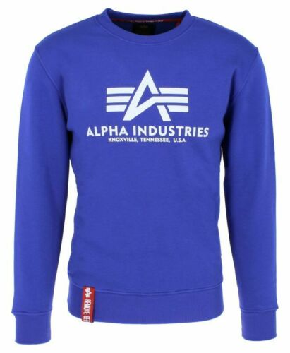 ALPHA INDUSTRIES Basic Sweater Herren Rundhals Pullover