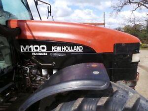 new holland fiatagri m100 m115 m135 m160 tractors workshop rh ebay co uk New Holland Mower Manual New Holland GT22A Garden Tractor