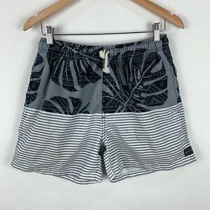 RipCurl-Board-Shorts-Mens-Size-Small-Multicoloured-Striped-Elastic-Waist