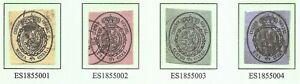 ESPANA-SPAIN-EDIFIL-35-38-USADOS-80-DESCUENTO