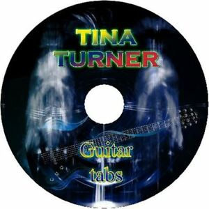 TINA TURNER BASS /& GUITAR TAB CD TABLATURE BEST OF GREATEST HITS ROCK MUSIC