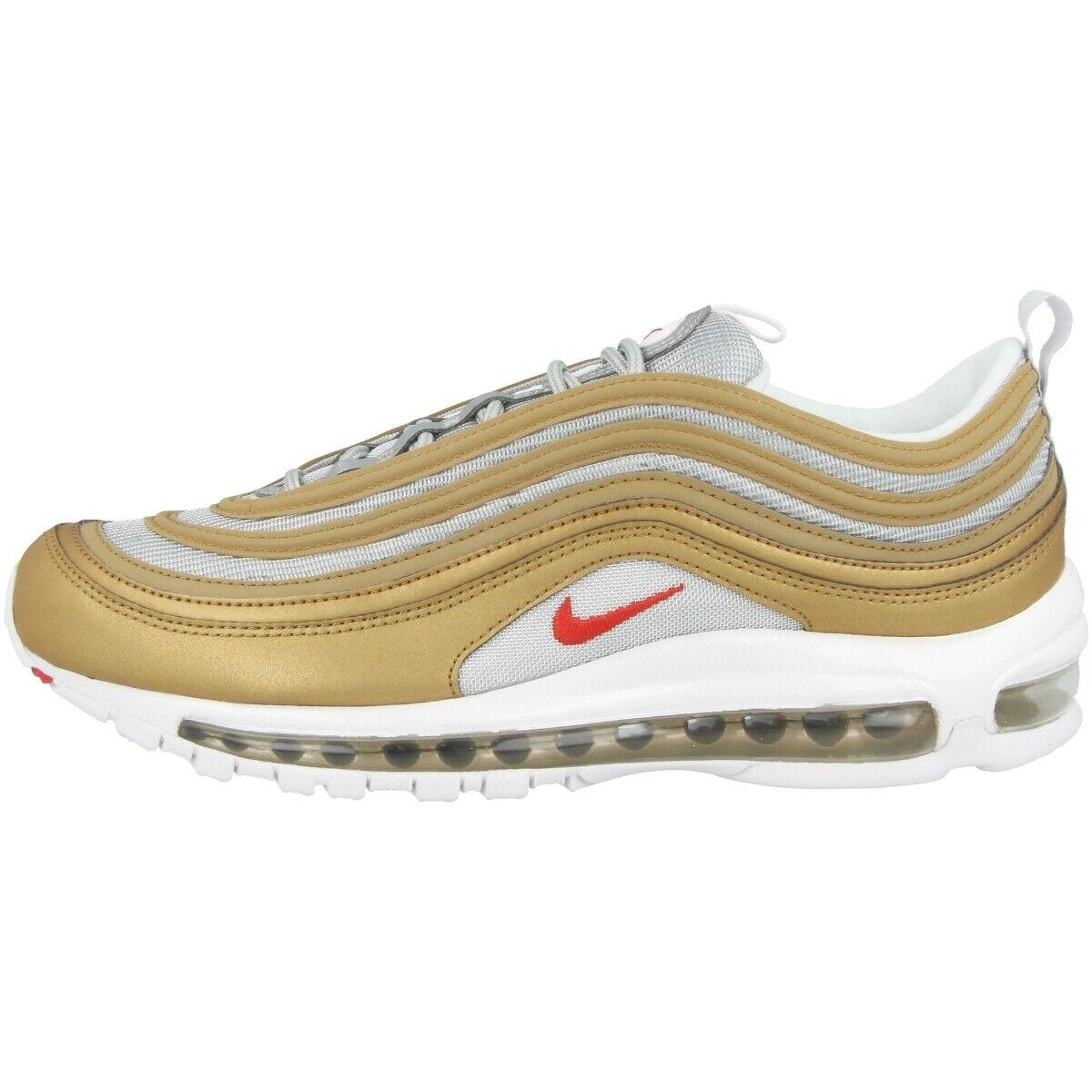 Nike Air Max 97 SSL Schuhe Herren Freizeit Turnschuhe metallic Gold rot BV0306-700