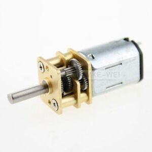Getriebe-Motor-elektrisch-6V-300U-min-fuer-Modellbau-Neu