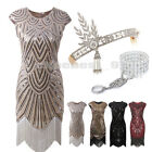 1920s Flapper Dress Great Gatsby Sequin Beaded Fringe Dresses Art Deco Plus Size