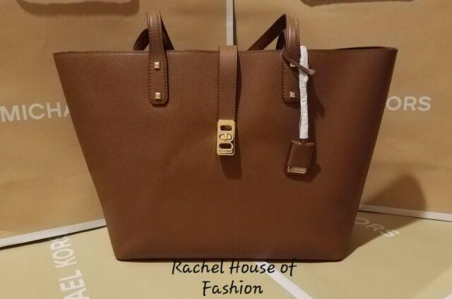 9ec5f2edea398 Michael Kors Tasche Shopper Karson braun Gross Börse günstig kaufen ...