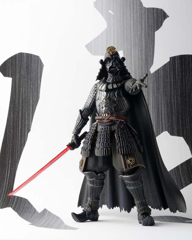Star Wars BANDAI Movie Realization Samurai Daisho DARTH VADER VADER VADER Action Figure MISB 586d97