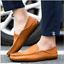 Fashion-Leather-Men-039-s-Casual-Shoes-Breathable-Antiskid-Loafers-Moccasins thumbnail 3