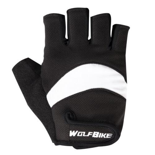 Non-Slip Gloves Men/'s Women/'s Sportswear Bicycle Cycling Short Half Finger Glove