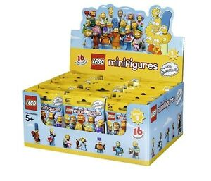 NEW-SEALED-LEGO-Box-Case-71009-of-60-MINIFIGURES-The-Simpsons-Series-2