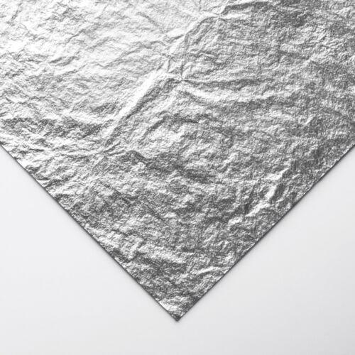 Handover Roll of Imitation Silver Leaf 50 m 10 mm