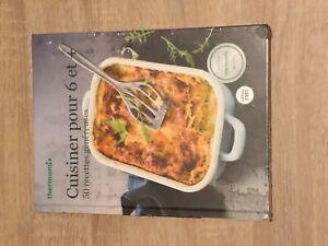 LIVRE-DE-RECETTES-THERMOMIX-cuisiner-pour-6-et-neuf-sous-blister