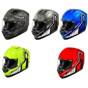2018-Icon-Alliance-Overlord-Full-Face-DOT-Helmet-Pick-Size-and-Color