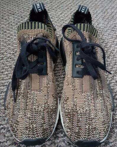 Originals Glitch Baskets Olive Uk Nmd Camo Vert 9 Taille Adidas SRgxqaFBq