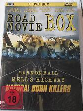 Road Movie Box  Sammlung - Cannonball, Natural Born Killers, Hells Highway