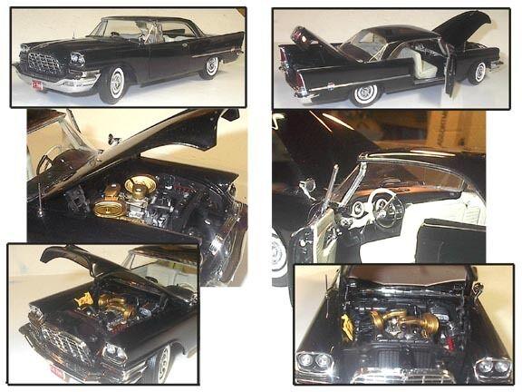 Échelle 1 18 PRECISION 100 1957 CHRYSLER 300 Qualité 645