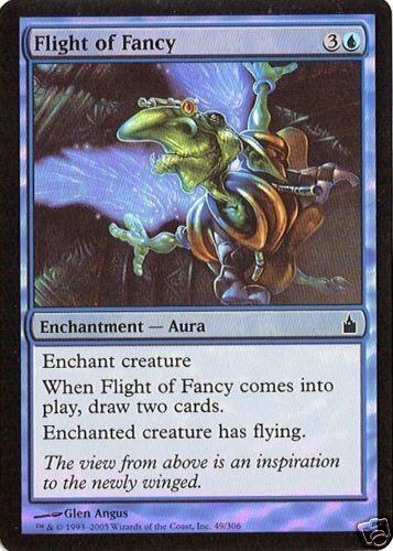 Flight of Fancy Ravnica MTG NM 2X Foil