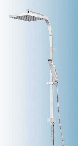 SCHULTE Duschsystem D9636 SQUARE Duschmaster Rain II mit Umsteller