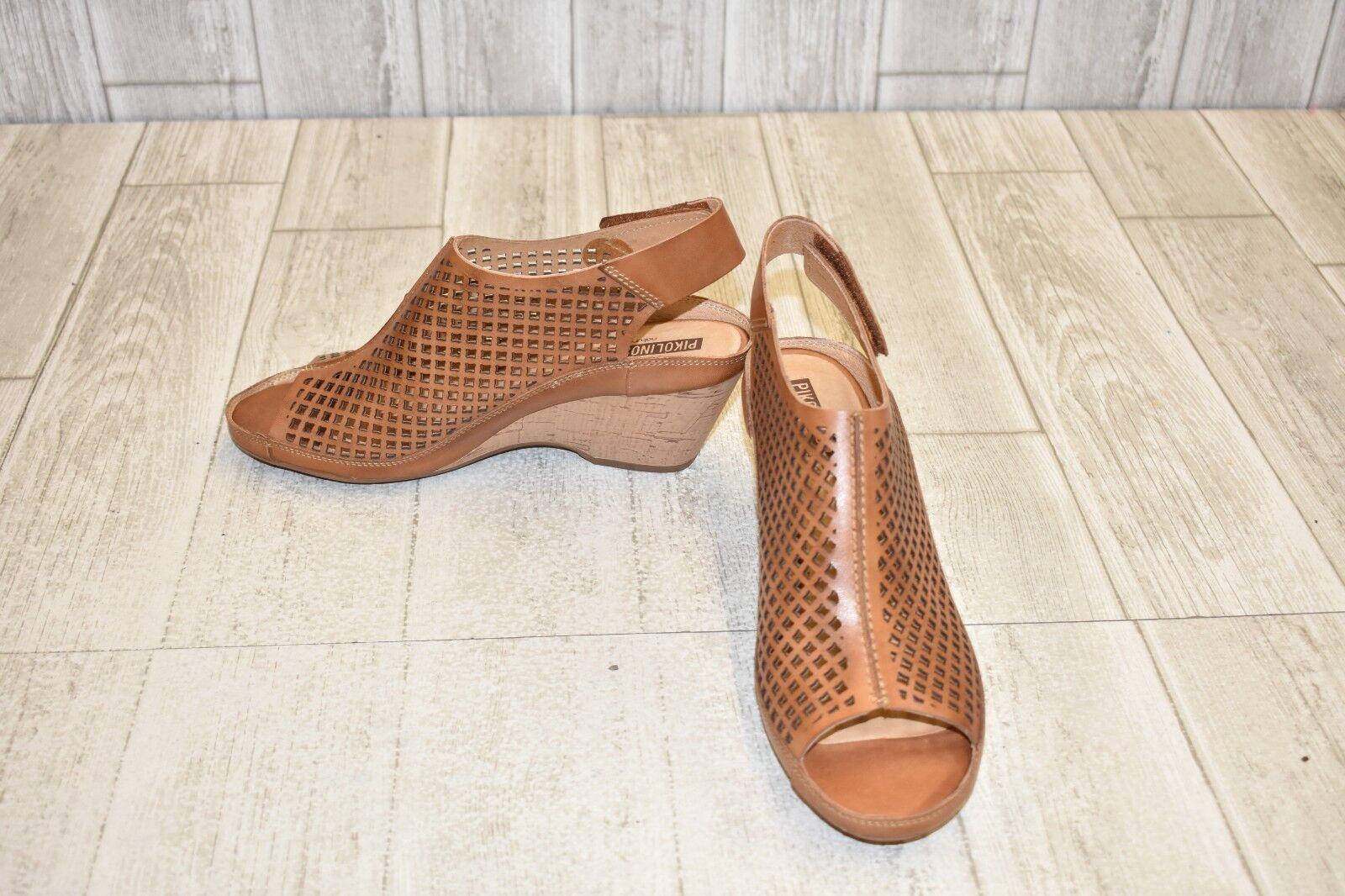 Pikolinos Capri Brandy Sandal Heel - Women's Size 9.5 10 Brown