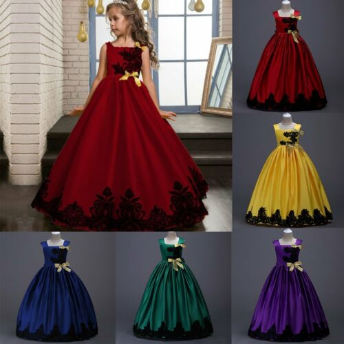 Western Dress of princess dress with corset edge on embroidered long skirt