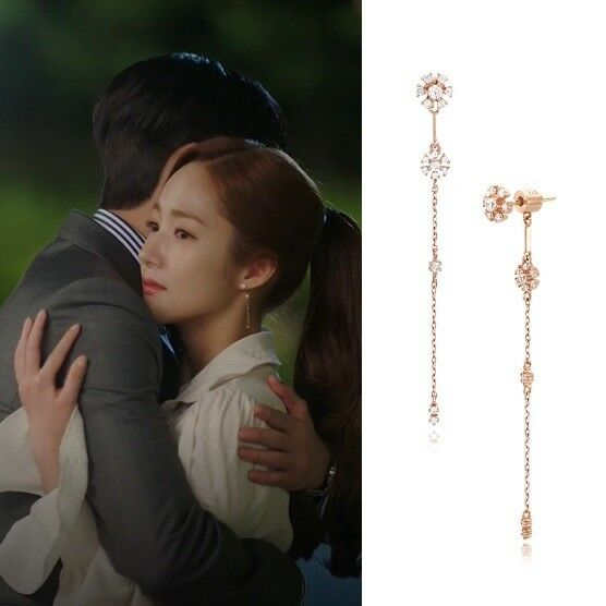 STONE HENGE I0130 EARRINGS Whats wrong with secretary kim pink gold 14K Arafeel