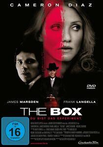 THE-BOX-James-Marsden-Cameron-Diaz-Frank-Langella-Michele-Durrett-DVD-NEU