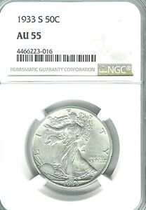 1933-S-Walking-Liberty-Half-Dollar-NGC-AU55