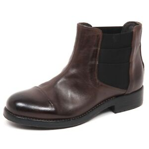 E0448-beatles-donna-HUNDRED-100-brown-vintage-boot-shoe-woman