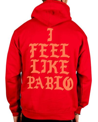 Yeezus I Feel Like Pablo New Hooded Jumper Kanye West Yeezy Tour Hoodie Clothing