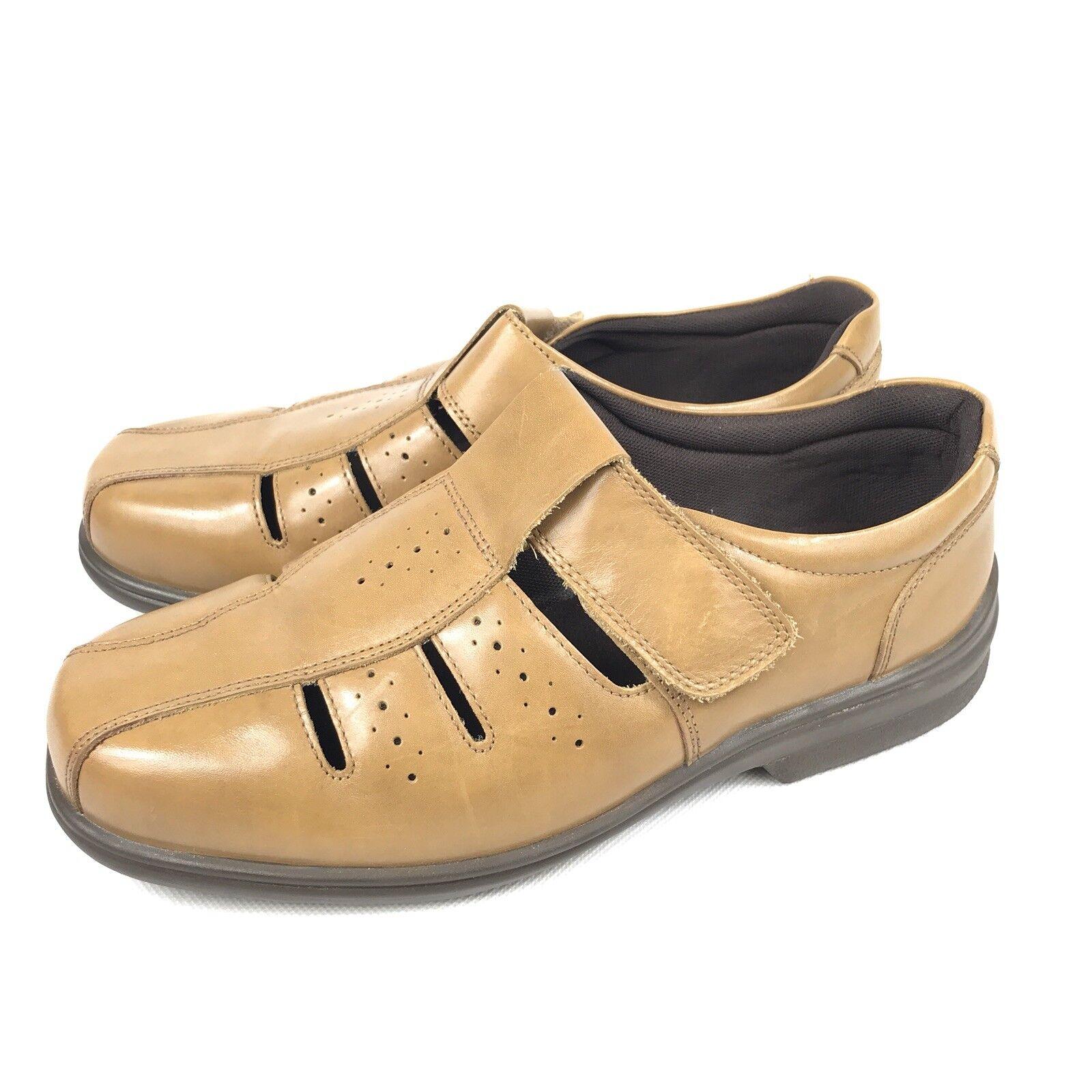 Cosyfeet Floyd Extra Confort Para Hombre Marrón espacioso zapatos talla UK 11 pies hinchados