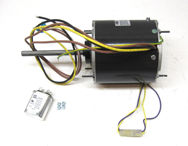Ac Air Conditioner Condenser Fan Motor 1  2 Hp 1075 Rpm 230