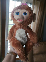 FurReal Friends Cuddles My Giggly Monkey Interactive Pet Shawinigan Mauricie Preview