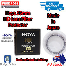 Brand New HOYA HD 55mm FILTER ULTRA PREMIUM FILTER For Canon Nikon Len Aus Stock