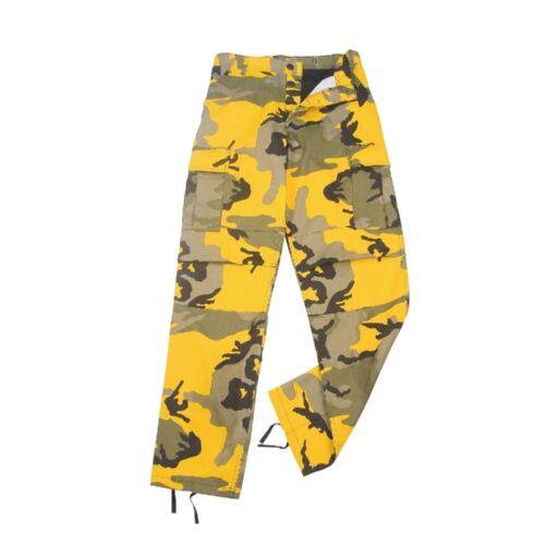 Rothco 8875 Stinger Yellow Camo BDU Pants