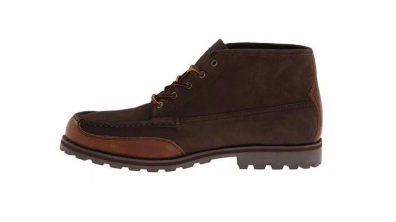 POLO Ralph Lauren Men's Boot WATERTON, Dark Brown Ankle Lace Size 10.5 D