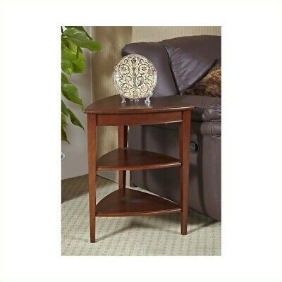 Leick Furniture Shield Tier Corner Table For Sale Online