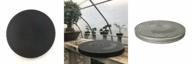 "L... Mighty Mini Bonsai Tree Turntable 12.5/"" Base Stainless Steel Ball Bearings"