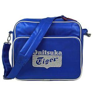 ASICS ONITSUKA TIGER AIRLINER BAG VINTAGE MESSENGER TASCHE BLAU ...