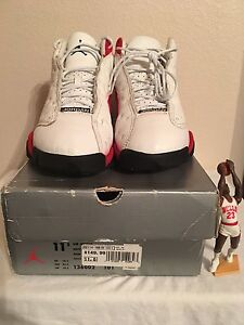fba78d5ea95 1998 OG Air Jordan XIII (13) Cherry (Bleeds) White Varsity Red-Black ...