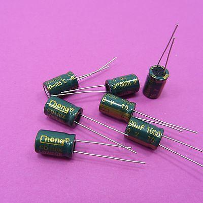 10 V 1000uF condensateurs électrolytiques haute fréquence faible ESR Genuine Chong