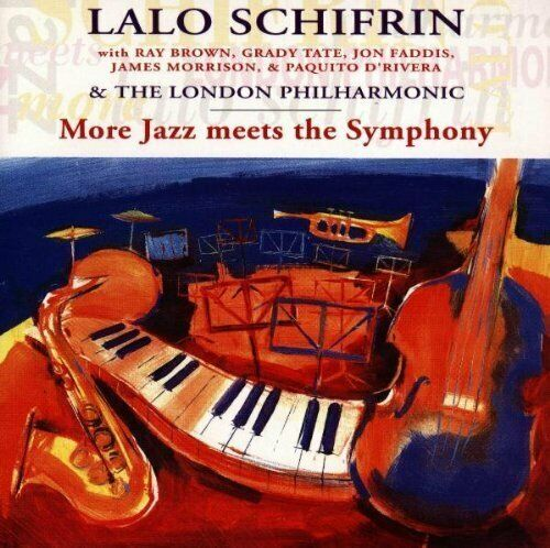 Lalo Schifrin More jazz meets the symphony (& London Philharmonic)  [CD]