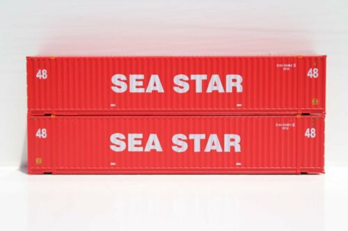 N JTC #485006 SEA STAR 48/' HC 3-42-3 Corrugated Containers w// Magnetic system