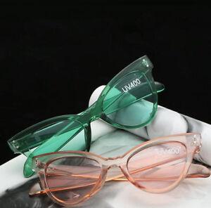 Fashion-Transparent-Cat-Eye-Sunglasses-Women-Gradient-Lens-Vintage-Cateye-UV400