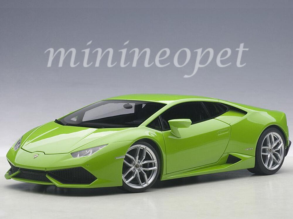 AUTOART 74605 Lamborghini Huracan LP610-4 1 18 vert Mantis 4 Couche Vert